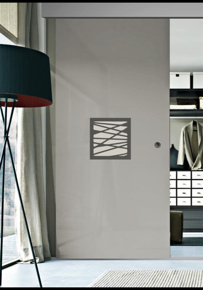Garderoba usa glisanta din sticla vopsita simpla model code for Usa glisanta