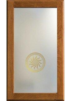 Vitrina sablata, Medalion  Solaris Satin