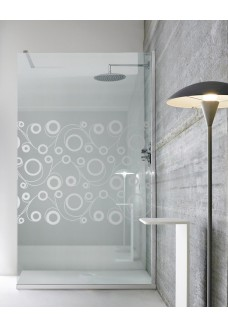 Paravan Cabina dus walk-in, sticla clara, culoare sablare: incolor