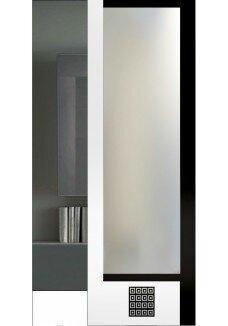 Vitrine sticla vopsita, model Milano