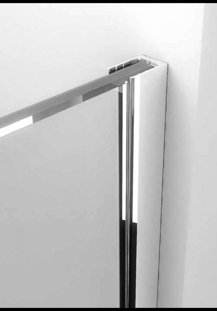 Profil inox 2 cm, luciu oglinda