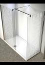 Cabina de dus sablat, (48), sticla clar, 8 mm, model: ROCHELLE RAIN