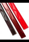 Brau de sticla 2 cm rosu